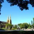 シドニー 聖メアリー大聖堂と公園